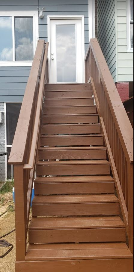 New Outdoor Steps