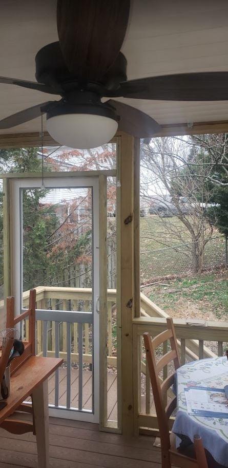 Porch Screen Room Inside 4