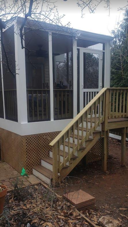 Porch Screen Room