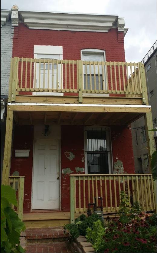 Upper & Lower Porch